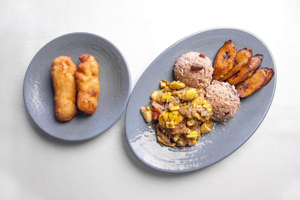 Ackee & CodFish
